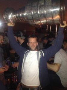 cm punk with stanely cup